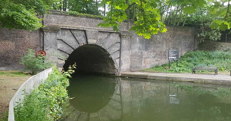 The Islington Tunnel features on our treasure hunt.