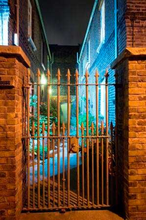 Puma Court, one of the atmospheric locations that we feature on the Spitalfields challenge.